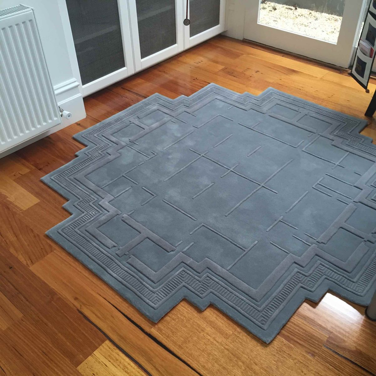 Custom designed rugs