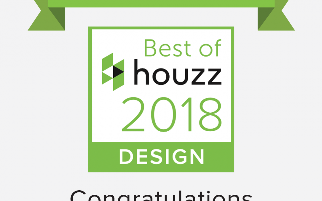 Houzz Best of Design award